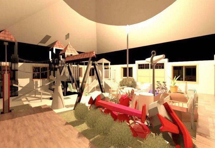 El proyecto se ejecutará en una superficie de 156 metros cuadrados. (Redacción/SIPSE)
