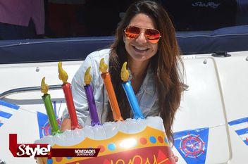 ¡Fiesta en altamar de Daniela Buendía!