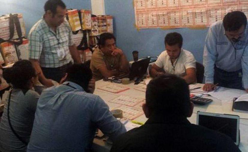 Imagen del Consejo Municipal de Tuxtla Gutiérrez en donde existen pugnas por los resultados electorales de varios municipios de Chiapas. (Hermes Chávez/Milenio)