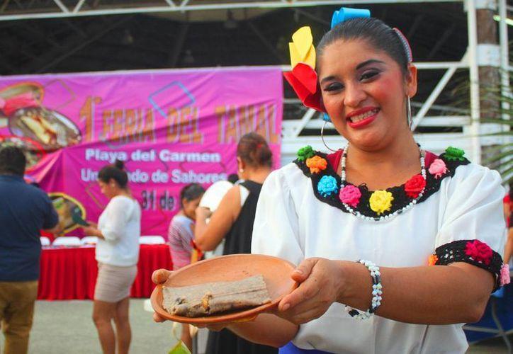 Participaron 27 expositores durante la feria del tamal en Playa del Carmen. (Daniel Pacheco/SIPSE)