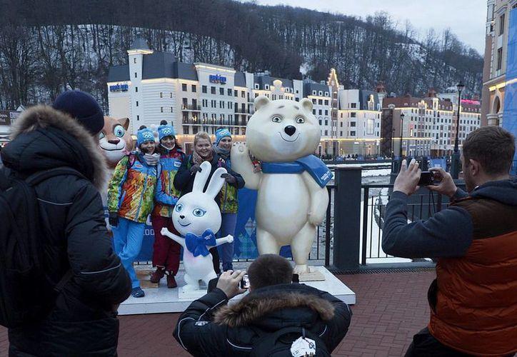 El análisis británico también reconoce que Sochi puede ser más difícil de atacar debido a la fuerte presencia militar rusa durante los juegos de invierno. (EFE/Archivo)