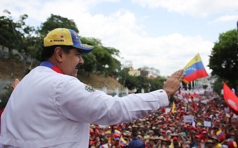 Maduro rechaza sanciones impuestas por EEUU