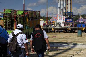 Protección Civil realiza inspección en la Feria de la Alegría