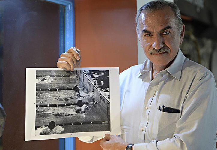 El atleta, Felipe Muñoz Kapamas, se encargará de crear el vínculo con los medallistas de México 1968, mexicanos y extranjeros. (Contexto/Internet)