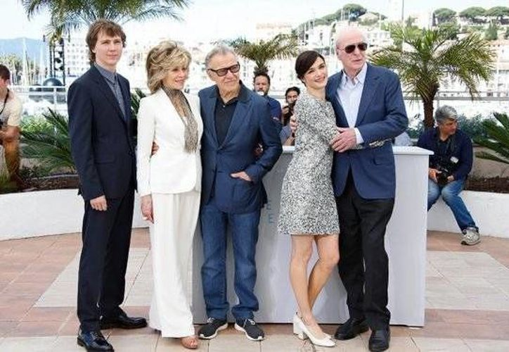 """Los actores Paul Dano, Jane Fonda, Harvey Keitel, Rachel Weisz y Michael Caine forman parte del elenco de la película """"Youth""""(AP)"""