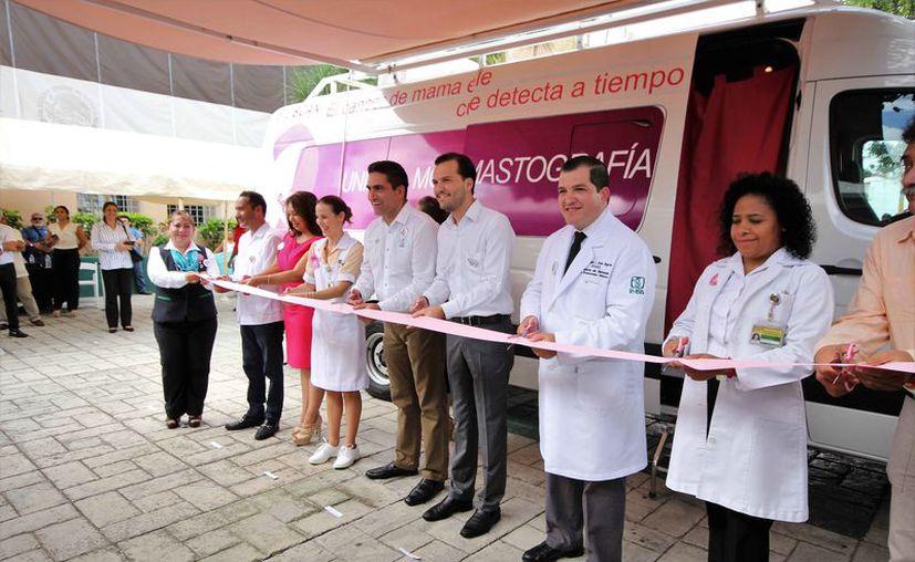 Las autoridades de salud inauguraron el inicio de las actividades en el municipio.  (Cortesía)