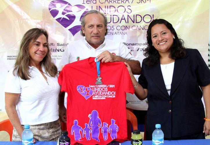 En conferencia de prensa, se dio a conocer que la carrera se realizará en el circuito Bonampak el 14 de septiembre. (Francisco Gálvez/SIPSE)
