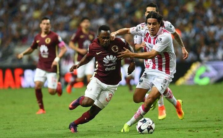 América sacó un punto en casa del Monterrey, que al ser local perdió dos. (Foto de record.com.mx)