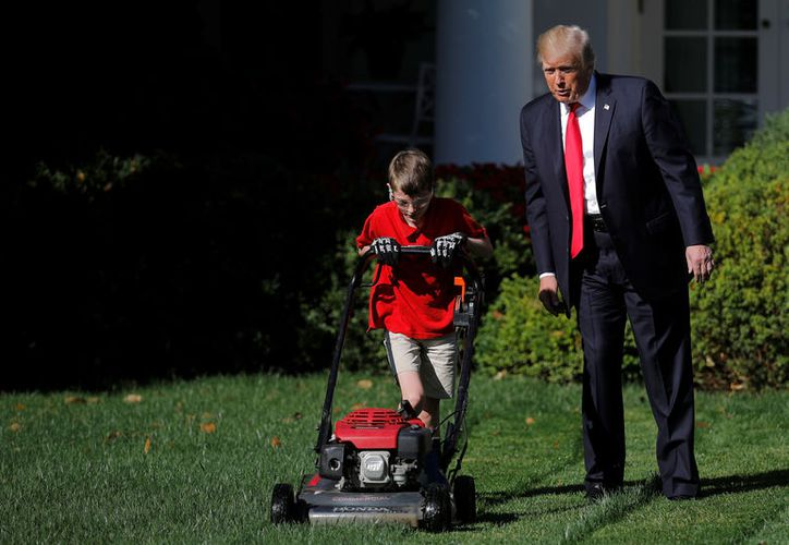 El niño fue invitado a la sala prensa, en donde agradeció la oportunidad. (RT)