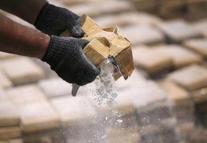 Se hallaron 60 paquetes que contenían la cocaína. (Archivo/Reuters)