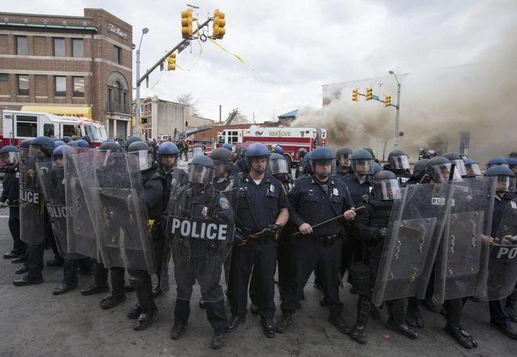 El informe sobre la Policía dE Baltimore fue motivado por la muerte en abril del año pasado de Freddie Gray, un joven negro que falleció en custodia policial tras se detenido. (Archivo/EFE)
