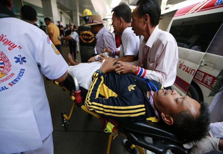Las protestas buscan boicotear las próximas elecciones del 2 de febrero en Tailandia. (Agencias)