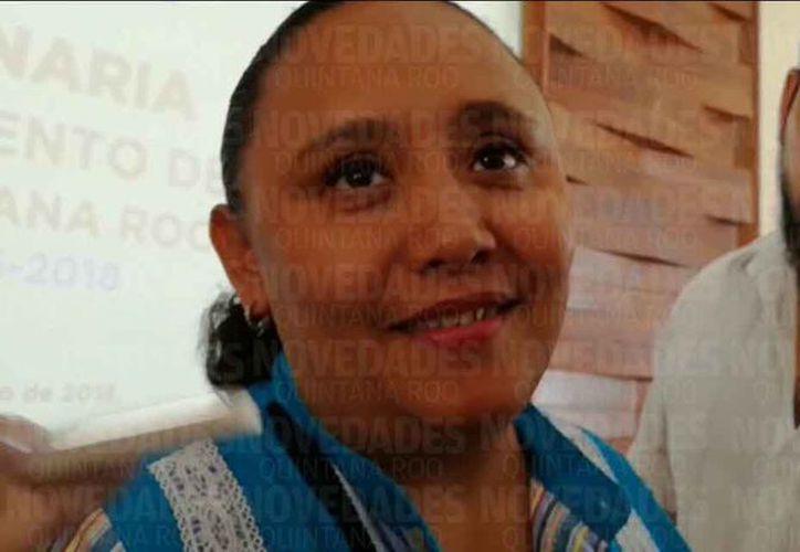 Señaló Cristina Torres Gómez que va a participar en la inscripción. (Adrián Barreto/SIPSE)