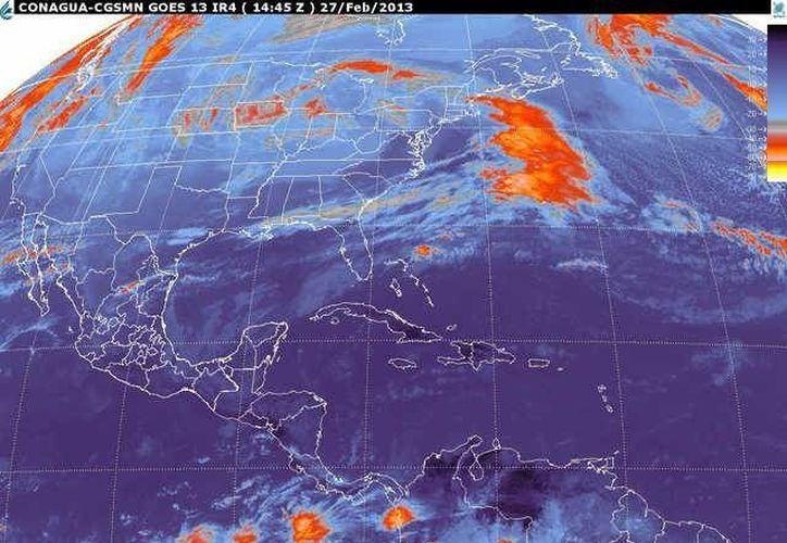 Soplarán vientos del norte y noreste de 20 a 40 km/h con rachas de 55 km/h. (smn.cna.gob.mx)