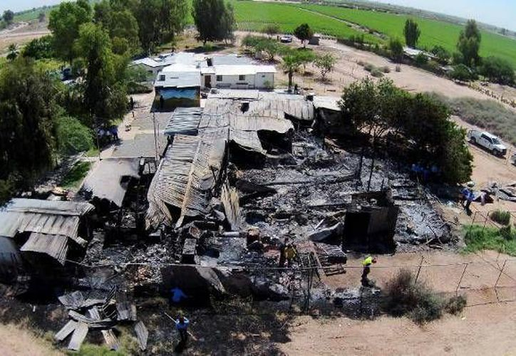 La inspección de la Cofepris se da tras el incendio  del albergue Hermoso Atardecer, donde murieron 17 personas. (frontera.info)