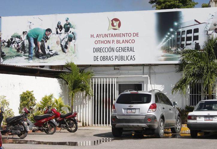 El alcalde manifestó el compromiso de nulificar posibles actos de corrupción en la dirección de Obras Públicas. (Harold Alcocer/SIPSE)