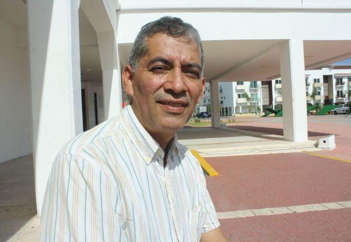 Enrique Burton Mendoza dijo que la representación local cuenta con unos 700 afiliados. (Alida Martínez/SIPSE)