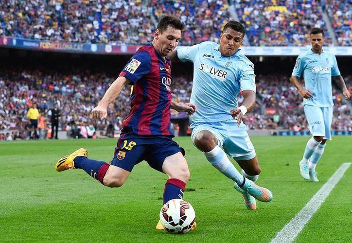 Lionel Messi sumó 359 goles con el Barza y la albiceleste le firmó 42 tantos, lo que fija su marca personal en 401 dianas. (FC Barcelona)