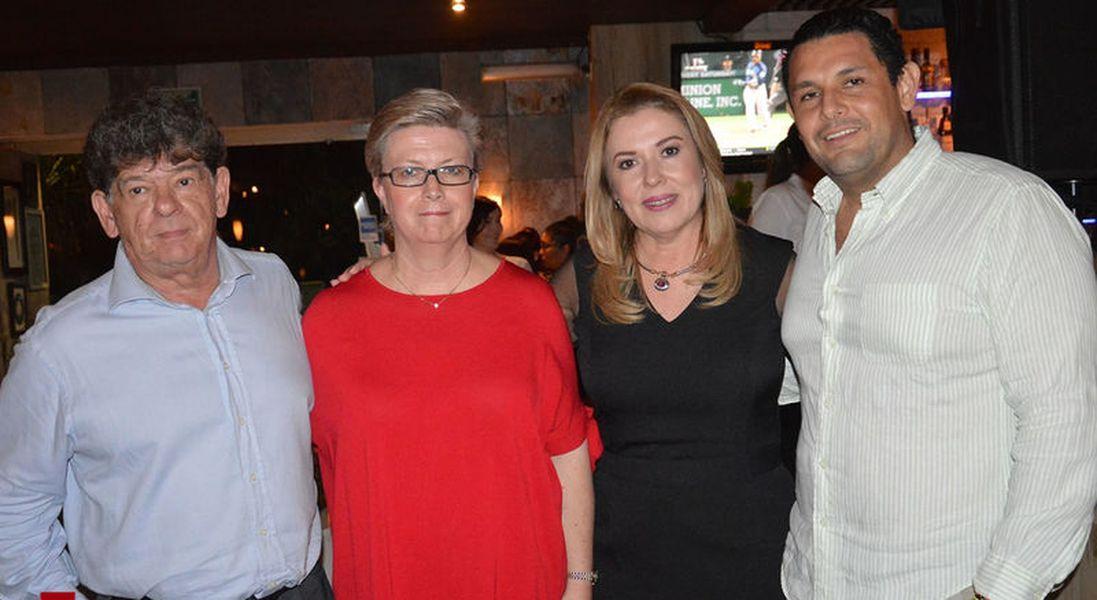 Cena a beneficio del Cuerpo de Bomberos de Cancún