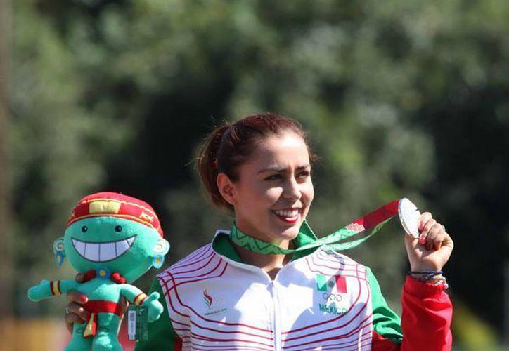 La experiencia de la medallista olímpica Aída Román fue clave para que México ganara 3 oros y 2 bronces en la segunda jornada de la Copa Arizona en Phoenix. (Foto de archivo de Notimex)