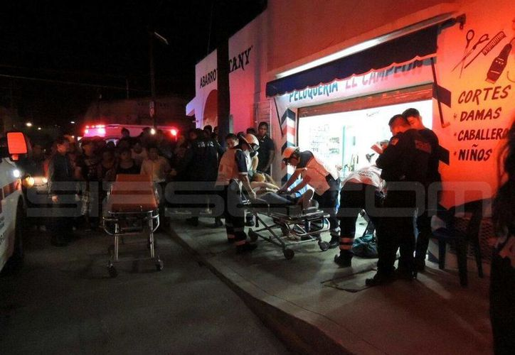 Una menor de edad fue herida de bala durante la noche de ayer en la Supermanzana 66 de Cancún. (Redacción/SIPSE)