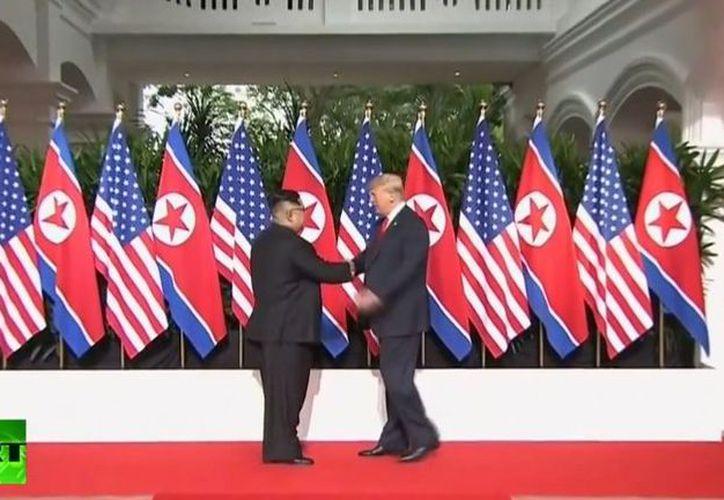 Se trata de la primera reunión cara a cara entre un presidente estadounidense en funciones y un jefe de Estado del país asiático. (Contexto/Internet)