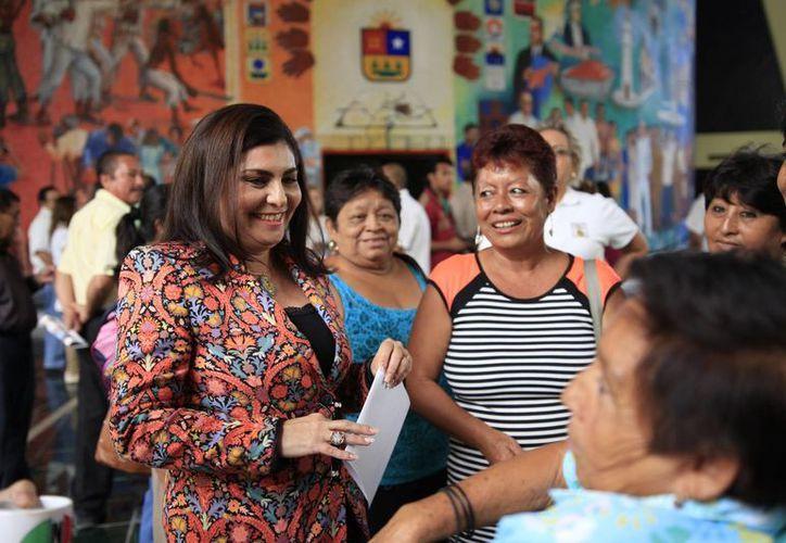 La presidenta de la Comisión para la Igualdad de Género, Maritza Medina Díaz, promueve la iniciativa. (Cortesía)