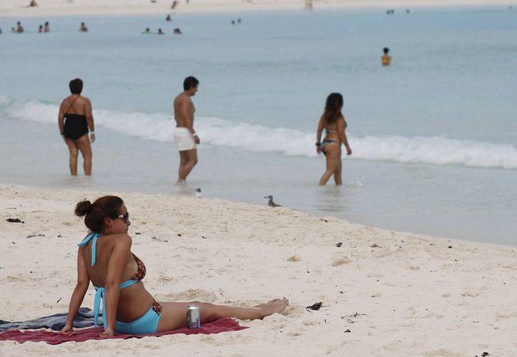 """""""Live it to belive it"""" busca potenciar la visita de turistas norteamericanos a Cancún. (Jesús Tijerina/SIPSE)"""