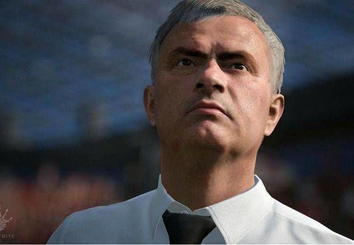 José Mourinho estará disponible junto a todos los técnicos de la Premier League a partir de esta nueva edición del FIFA de EA Sports, la cual será lanzada el próximo 29 de septiembre. (EA Sports)