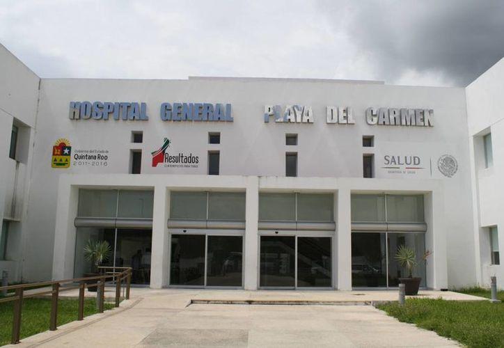 El director del hospital general se abstuvo de responder a las acusaciones. (Loana Segovia/SIPSE)