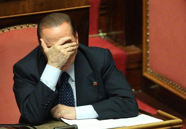 El pleno de la Cámara Alta deberá ratificar la expulsión de Berlusconi. (EFE/Archivo)