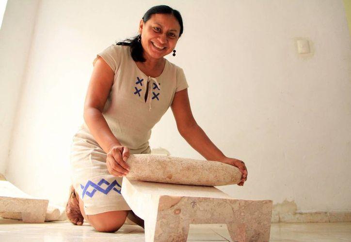 Delfina Castillo Tzab, embajadora en México de la red de Mujeres Empresarias de las Américas. (José Acosta/SIPSE)