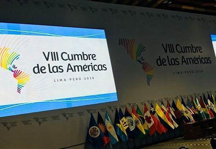 La VIII Cumbre de las Américas fue inaugurada hace unas horas, en el Gran Teatro Nacional de Lima. (Contexto/Internet)