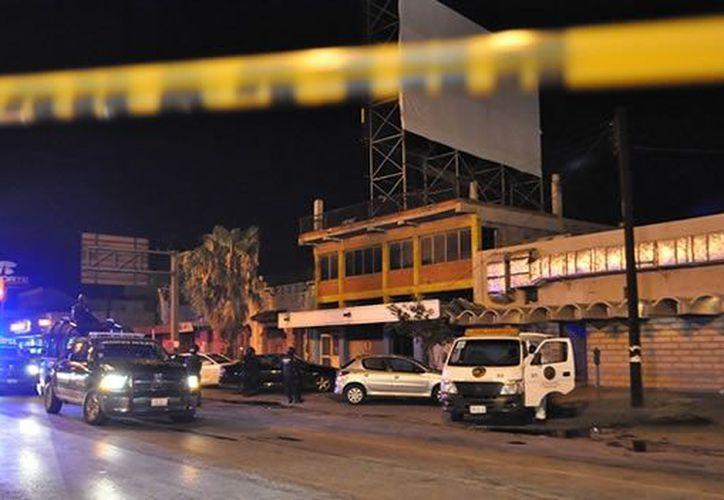 El ataque al bar Matehuala se realizó en agosto pasado. (CNN)