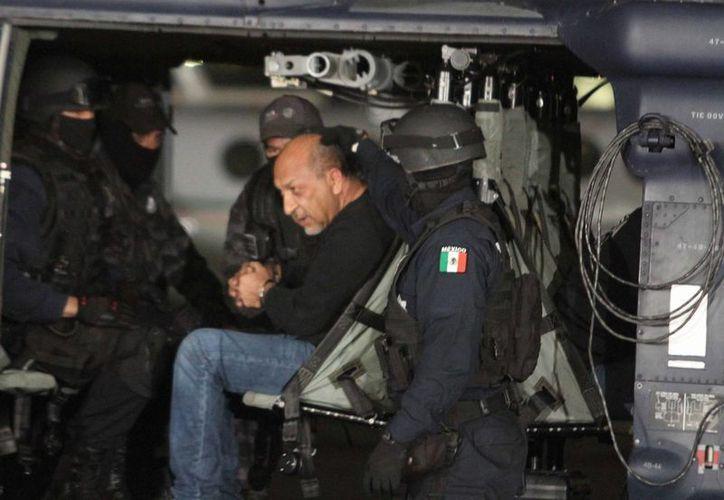 Servando Gómez Martínez, alias La Tuta, fue detenido el 27 de febrero pasado. (Archivo/Notimex)