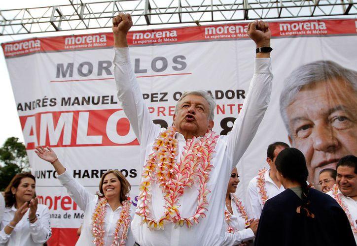 Andrés Manuel López Obrador aseguró que por los principios que tiene, no se reelegiría aunque el pueblo lo pidiera. (Notimex)