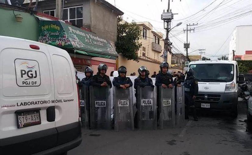El agresor también disparó contra los policías, y después se quitó la vida. (Jorge Becerril/Milenio)