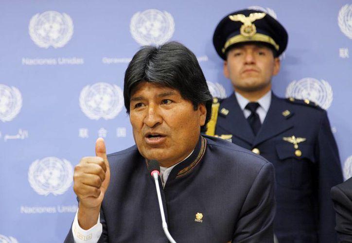 Morales hizo notar que el presidente estadounidense no fue aplaudido en ningún momento durante su participación. (Agencias)