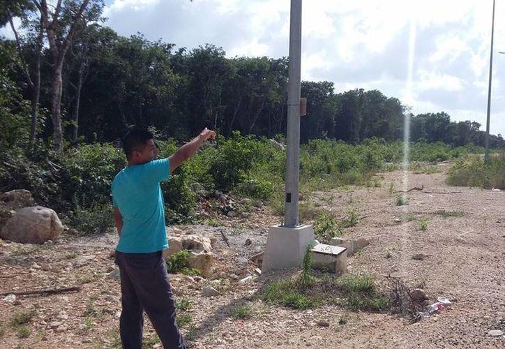 Molesta a habitantes la infraestructura desgastada. (Foto: Adrián Barreto/SIPSE)