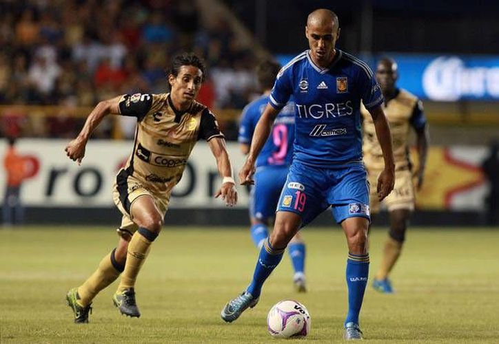 Aunque Dorados de Sinaloa consiguió un punto al empatar contra Tigres, sigue como último de la tabla general con 11 puntos y en consecuencia ocupa la misma posición en la porcentual, al finalizar la fecha 14 de la Liga MX (ligamx.net)