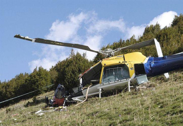 Según versiones periodísticas, el helicóptero que pertenecía a la compañía Helipac viajaba con cuatro tripulantes y nueve pasajeros que eran trabajadores de la petrolera Perenco. (EFE/Archivo)
