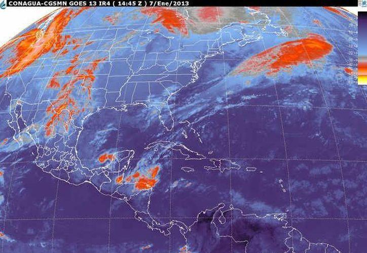 Soplarán vientos del norte y noreste de 30 a 50 km/h. (smn.cna.gob.mx)