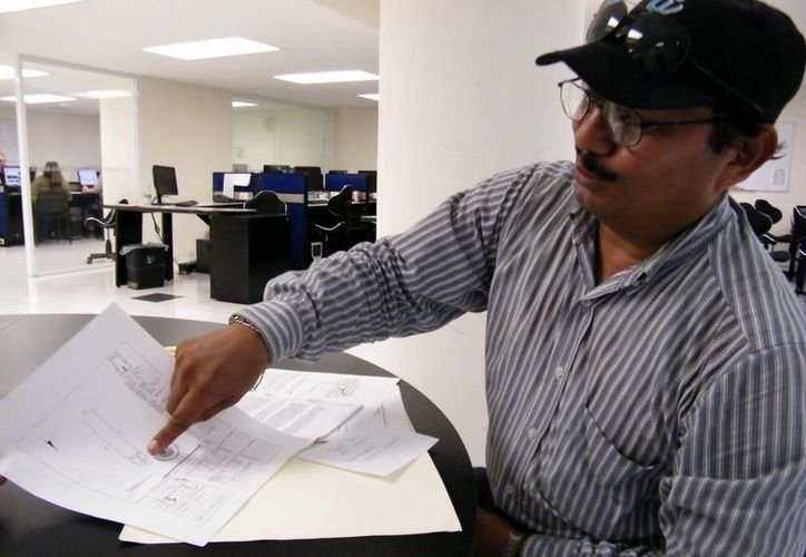 Gabriel Castillo Pacheco visitó las oficinas del periódico. (Milenio Novedades)