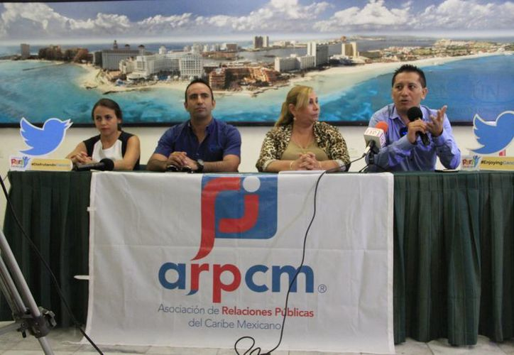 La campaña de promoción busca posicionar a Cancún en el trending topic. (Tomás Álvarez/SIPSE)