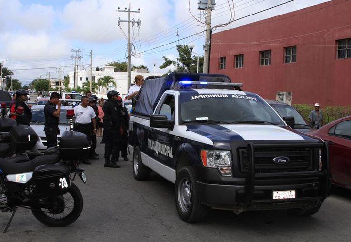 Los cuerpos policíacos no cuentan con los recursos óptimos para hacer frente a la delincuencia. (Ángel Castilla/SIPSE)