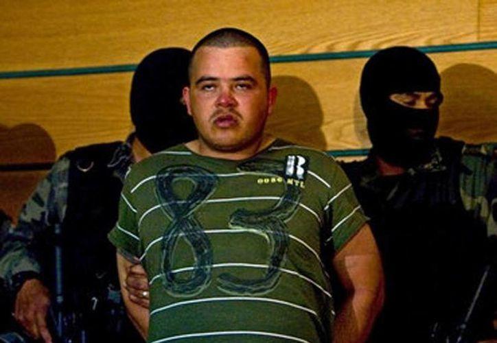 Imagen de archivo de Sifrigedo Nájera Talamantes, 'El Canicón', quien falleció este lunes en el penal de máxima seguridad del Altiplano. (informador.com.mx)