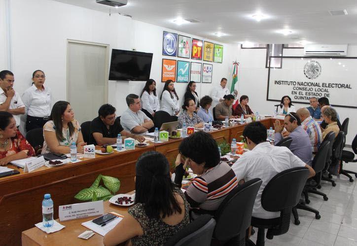 La veda electoral incluye a todos los candidatos a puestos de elección popular, así como a candidatos locales. (Joel Zamora/SIPSE)