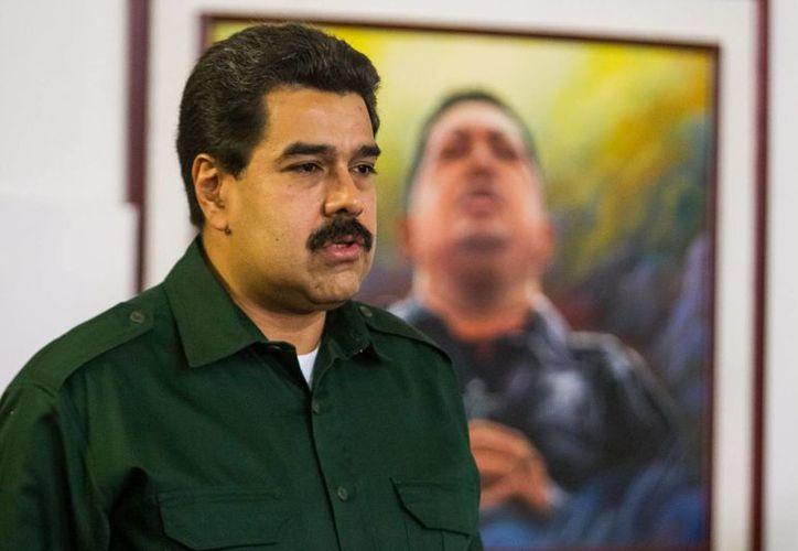 El sicario arrestado por tratar de asesinar al presidente venezolano Nicolás Maduro (foto), Alejandro Caicedo Alfonso, (a) <i>Scooby</i>, tenía dos cómplices que fueron detenidos desde agosto. (EFE)