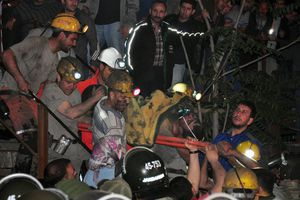 La tragedia minera en Turquía