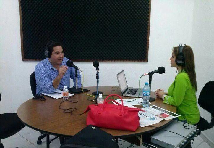 Mario Archundia Reyes, titular de la Fundación Castillo Peraza, dijo que la organización no persigue intereses partidistas. (Fundación Castillo Peraza/Facebook)